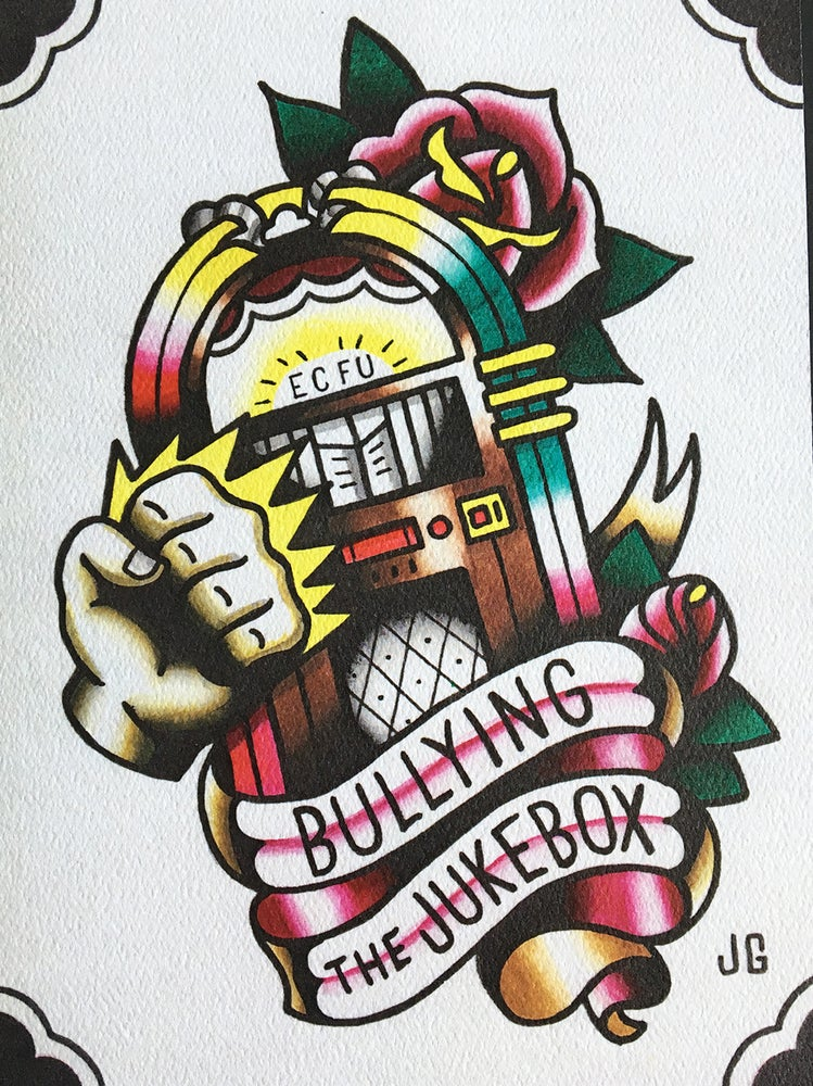 Image of The Bouncing Souls - Bullying the Jukebox Print