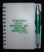 """Image of Spiral Notebook & Pen - """"LIFE"""""""