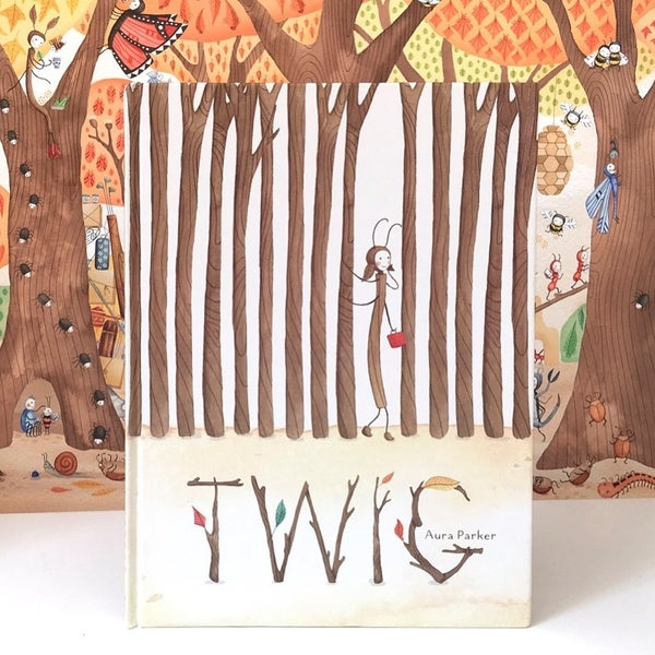 Image of Twig, signed picture book
