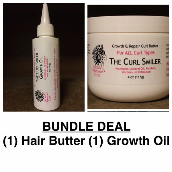Image of BUNDLE - (1) Hair Butter + (1) Growth Oil