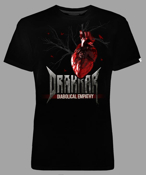 "Image of GIRLIE DRAKKAR Black -  "" HEART"""