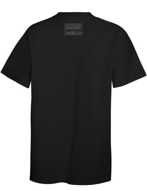 Image of Legendary American Patch Tee gray