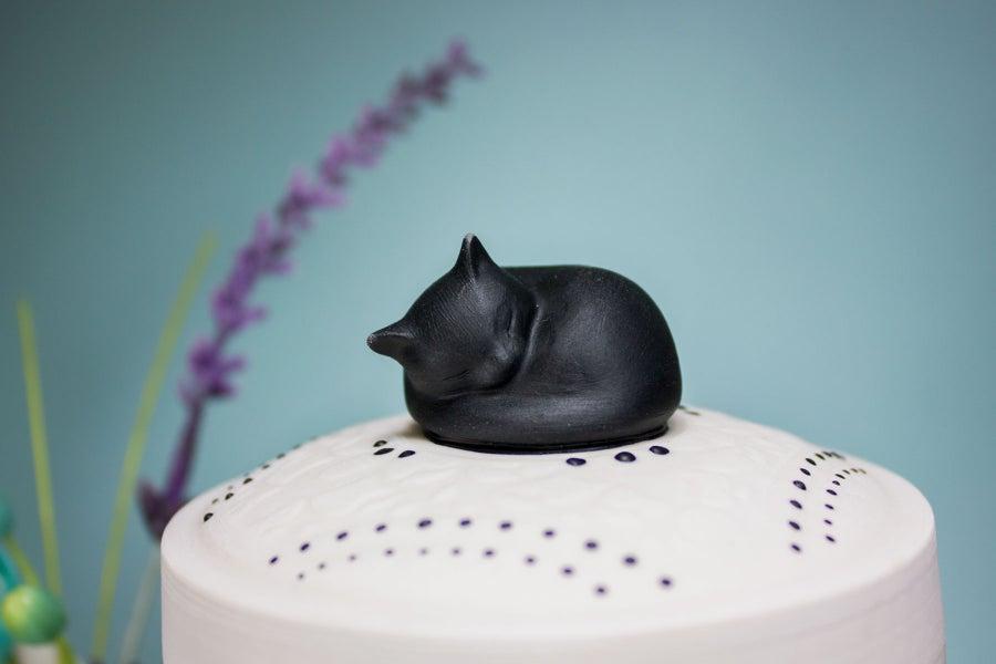 Image of Darling Ebony Pet Urn