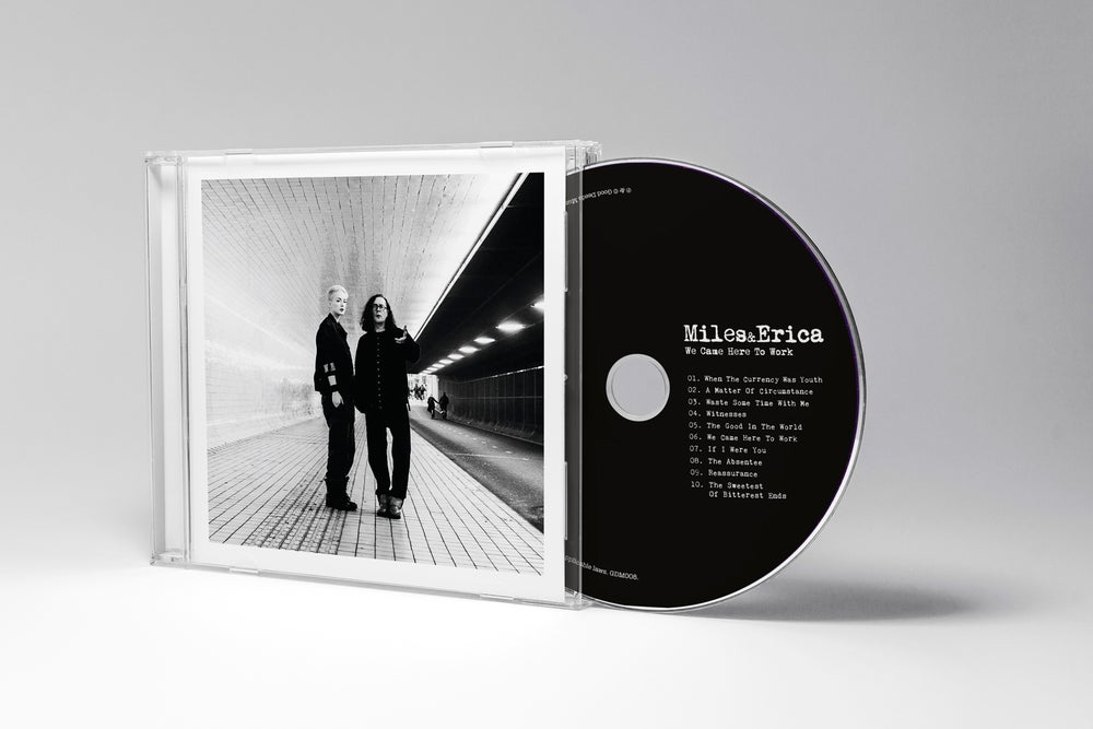 Image of We Came Here To Work - CD