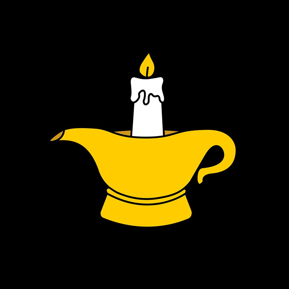 Image of Genie Lamp print