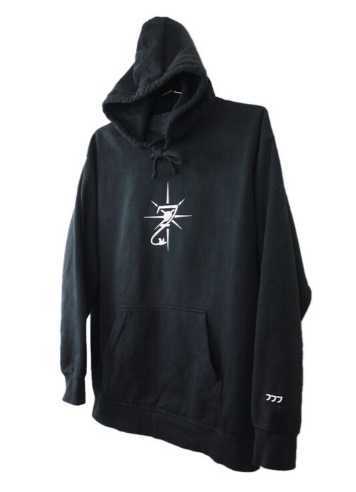 "Image of ""3STACKS"" EMBROIDERED HOODIE"