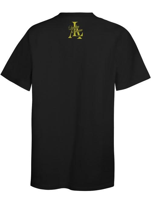 Image of Legendary American Crossbones in gold tee
