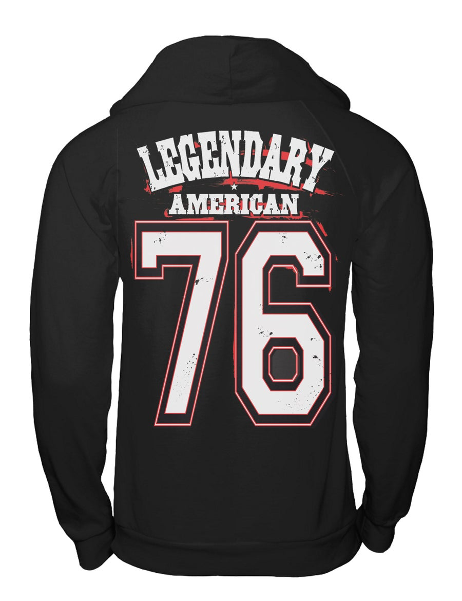 Image of Legendary American 76 Team pullover hoodie