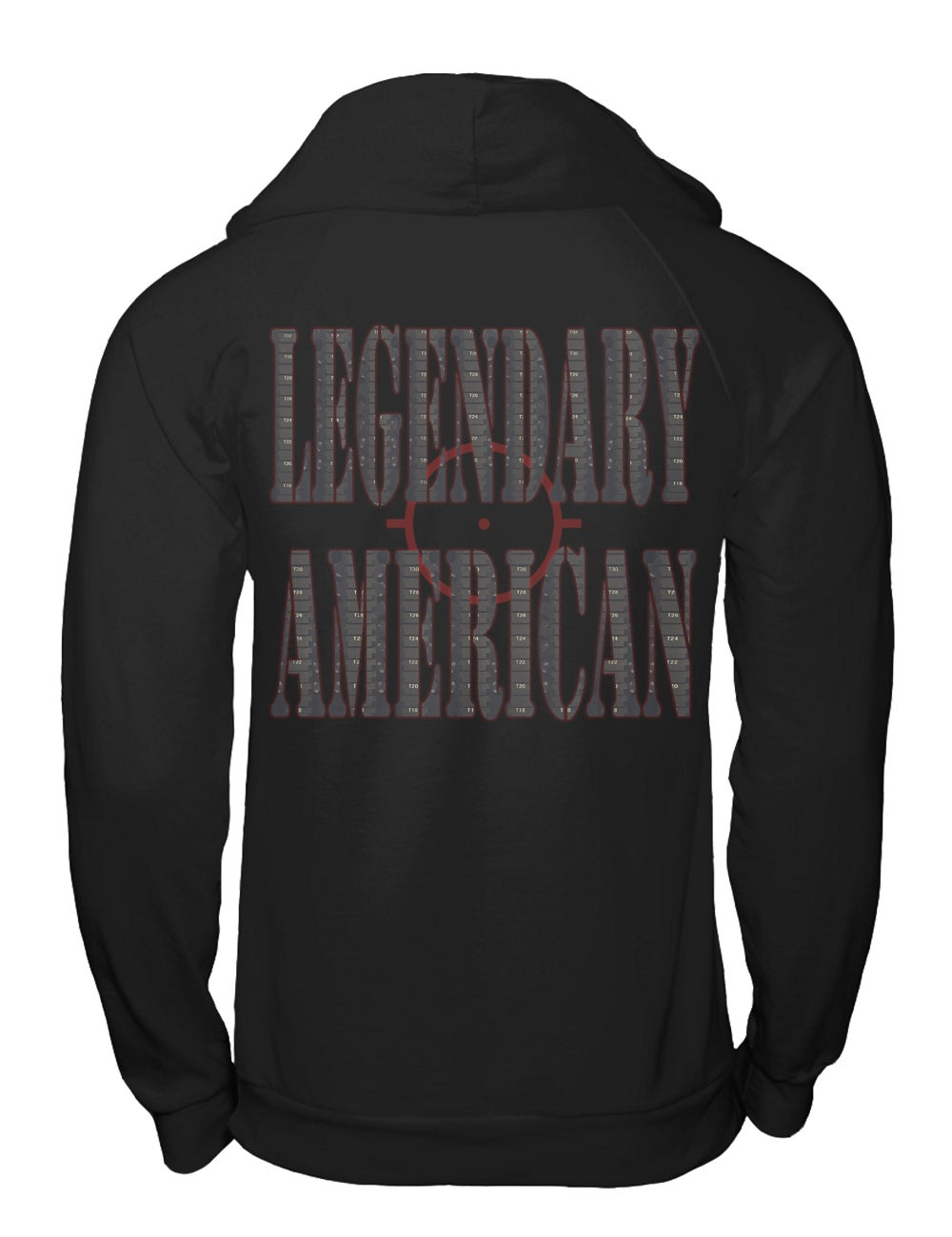 Image of Legendary American M4 pullover hoodie