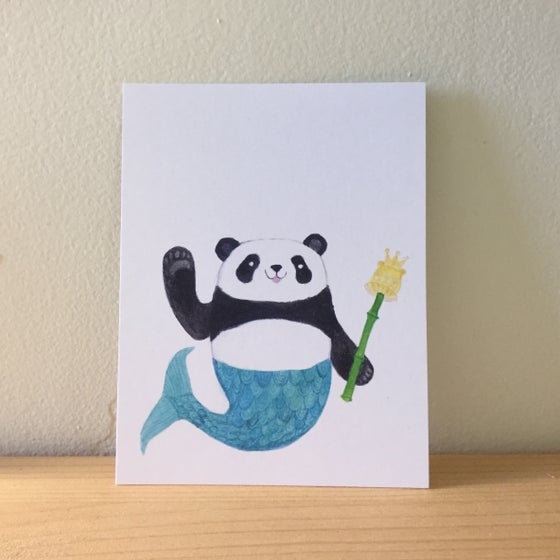 Image of merpanda postcards