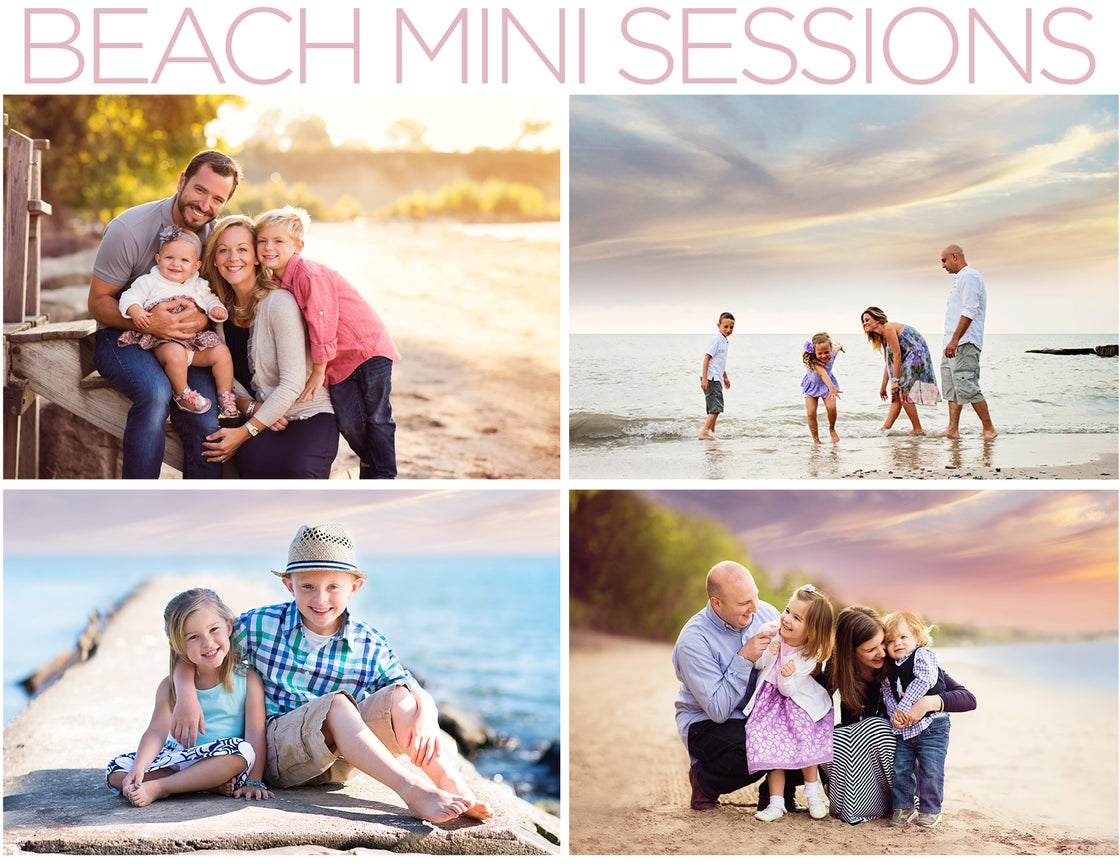 Image of Beach Mini Sessions - August 28 • 6-8 pm