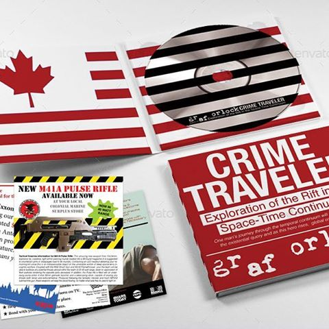 "Image of Graf Orlock ""Crimetraveler"" CD $7"