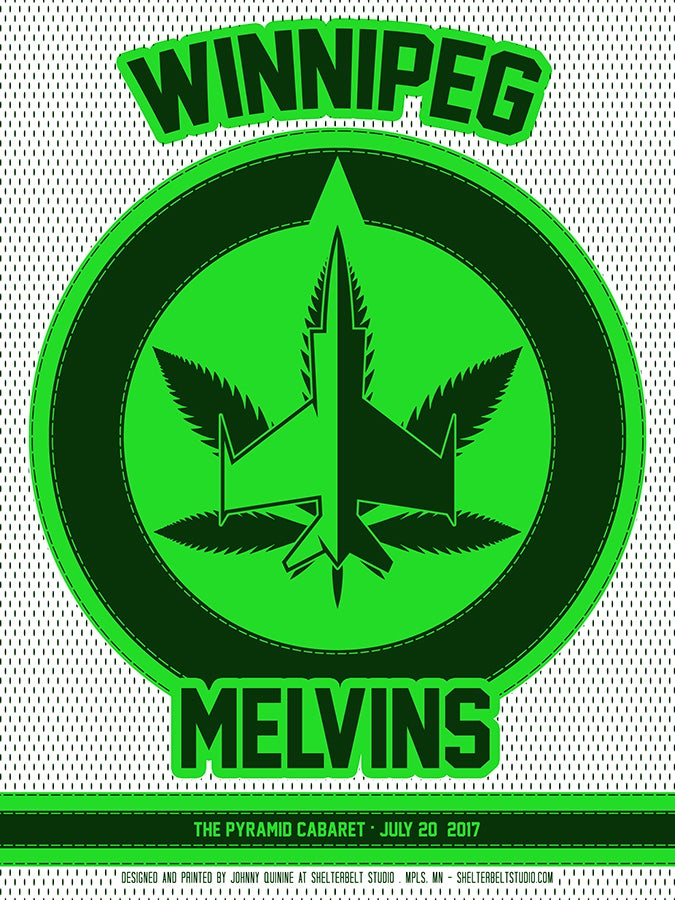Image of Melvins / July, 20 2017 / Winnipeg, MB