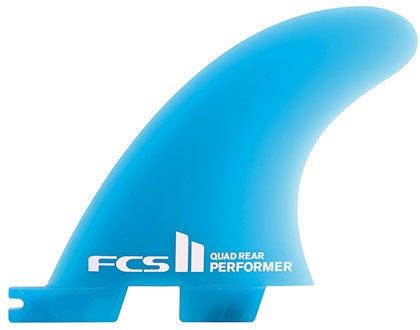 Image of FCS II Performer Neo Glass Quad Rear Set