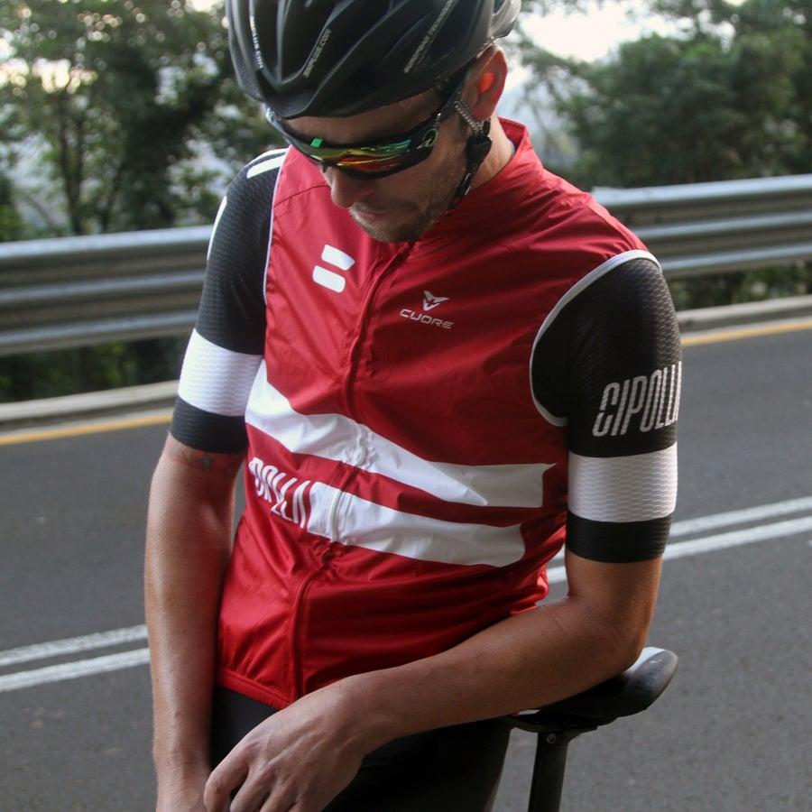 Image of CIPOLLA // MK2 RED WIND VEST - *PREORDER