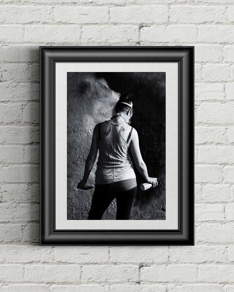 Image of Femme / A3 Framed Poster Print