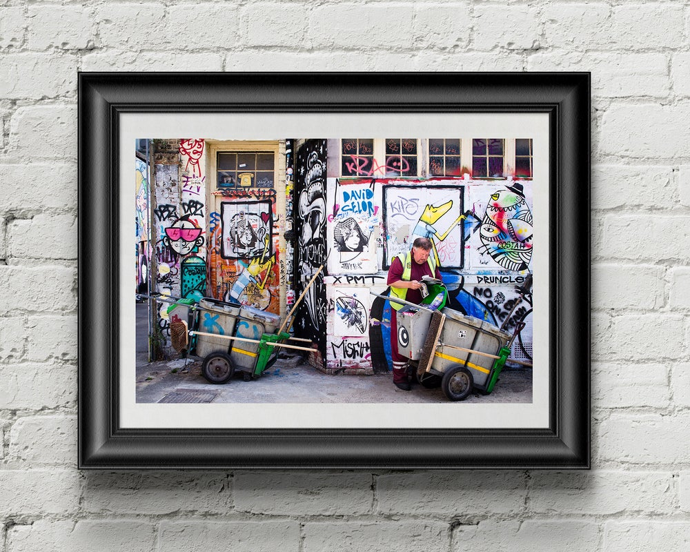 Image of Camouflage / A3 Framed Poster Print