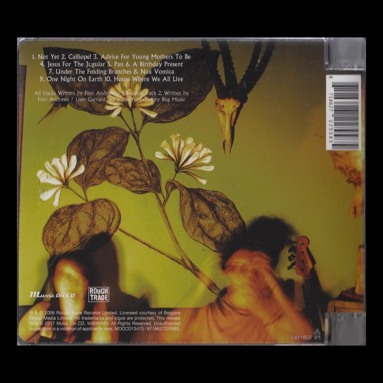 Image of NUX VOMICA CD Album RE-ISSUE