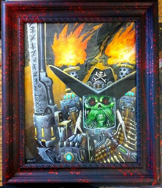 Image of 'The Revenge of Lee Van Cleef' Original Painting