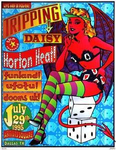 Image of Vintage Kozik 1995 Poster W/Reverend Horton Heat