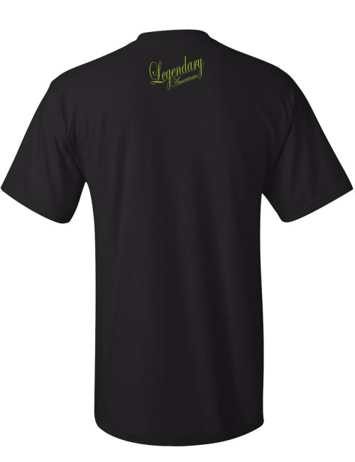 Image of Legendary American Traditional tee - gold print