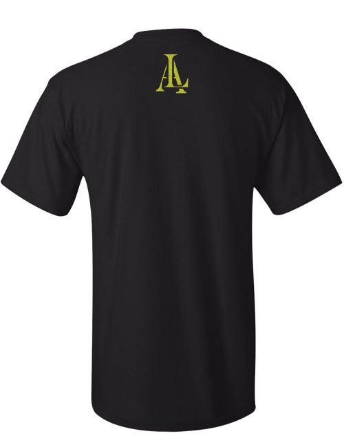 Image of Legendary American LA logo tee - gold print