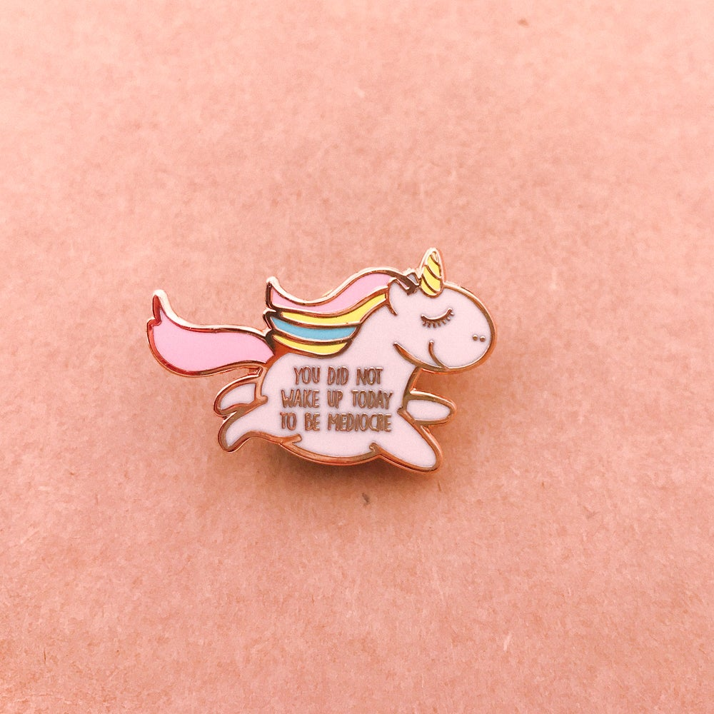 Image of Unapologetic Unicorn Enamel Pin