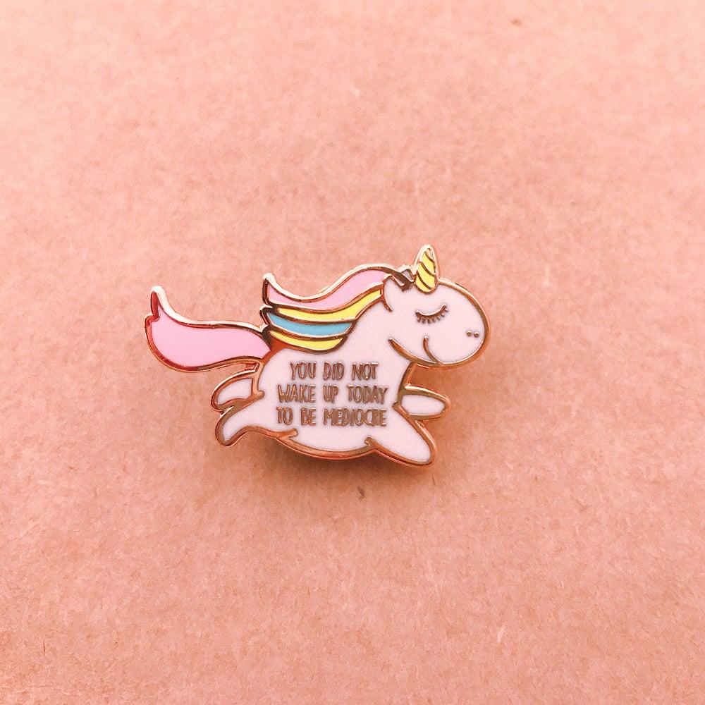Image of Unapologetic Unicorn Enamel Pin