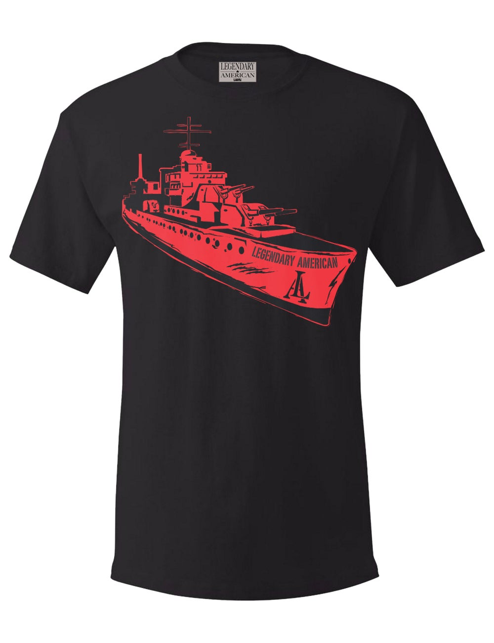 Image of Legendary American Battleship tee