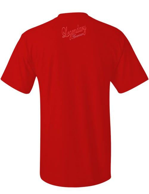 Image of Legendary American Traditional tee in red