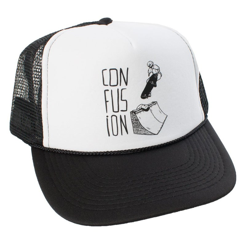 Image of Confusion - Sacrifice - mesh cap (white)