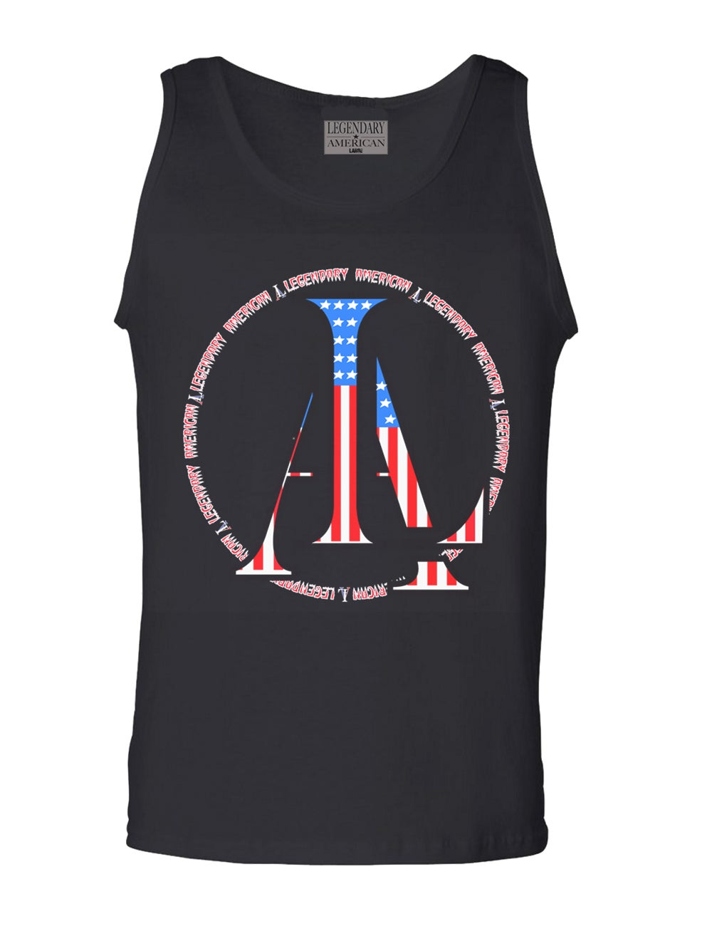 Image of Legendary American LA logo tank top