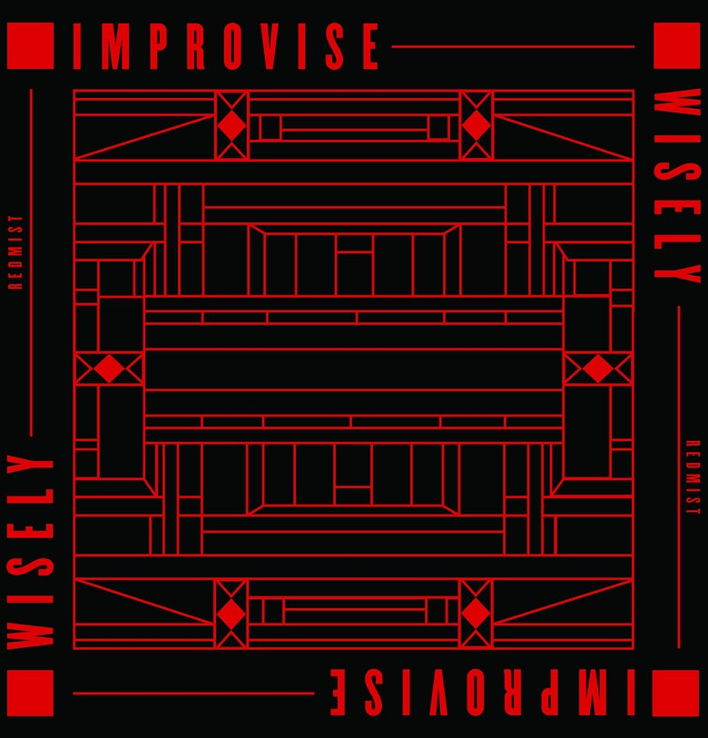 "Image of 12"" Vinyl - Redmist - Improvise Wisely (CNP009)"