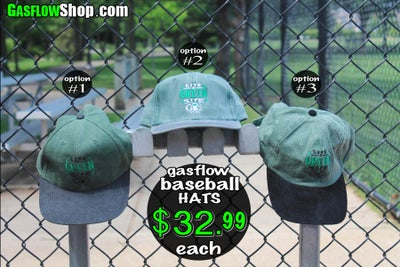Image of GASFLOW BASEBALL HAT COLLECTION