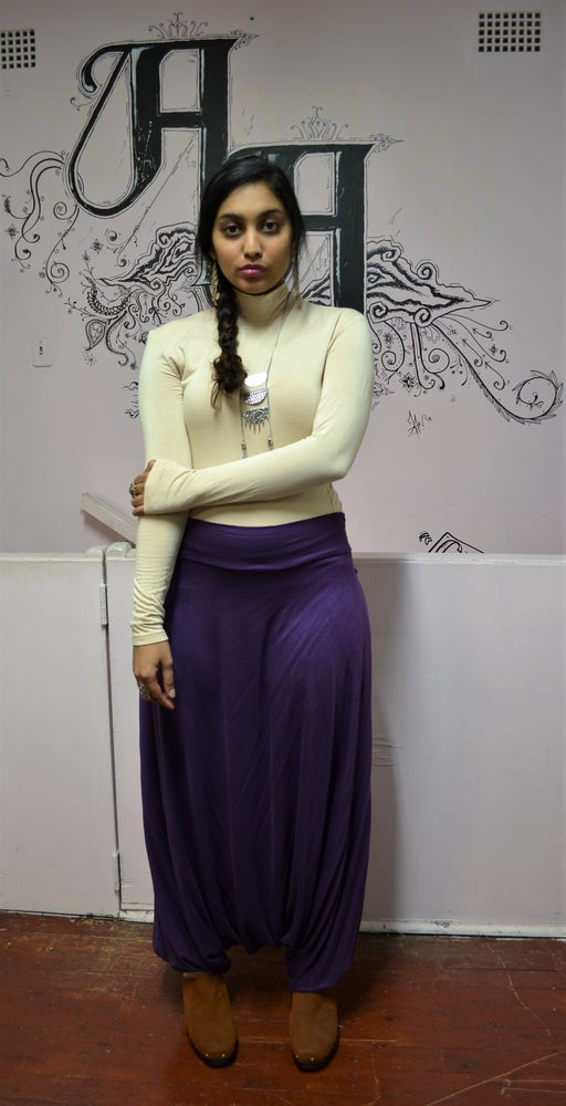 Image of Wandering Harem Pants (Purple).