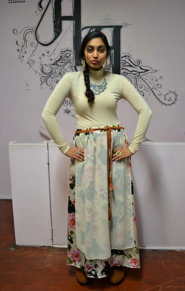 Image of Luna Layer Skirt (Floral).