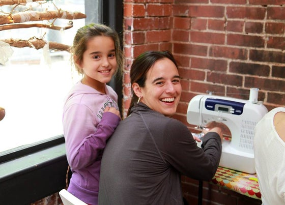 Image of Parent/Child Intro to Sewing - 11/12, 1-3 pm