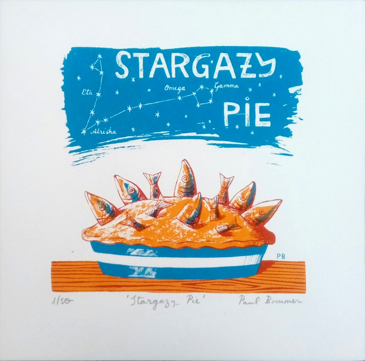 Paul Bommer Stargazy Pie