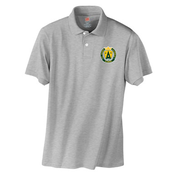 Image of SAS Grey Polo with new St. Agnes Logo