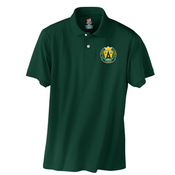 Image of SAS Green Polo with new St. Agnes Logo