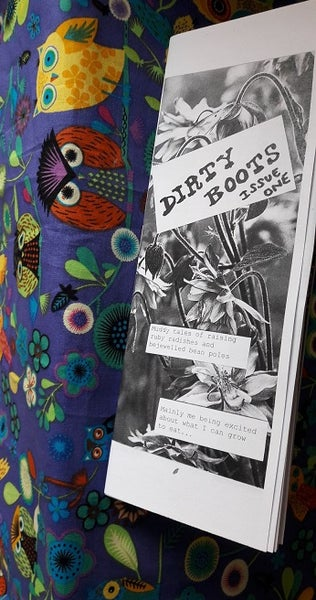 Image of Dirty Boots - gardening zine