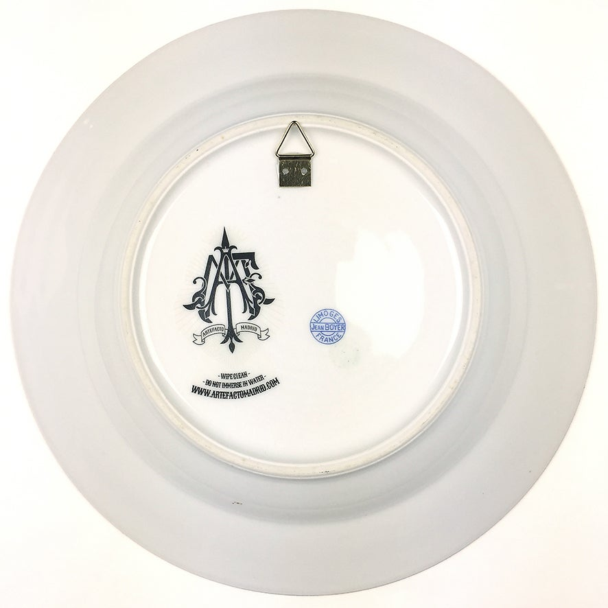 Image of Norwegian Lord - Vintage Limoges Porcelain Plate - #0448
