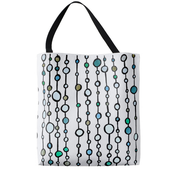 Image of Market Tote, Strings of Circles