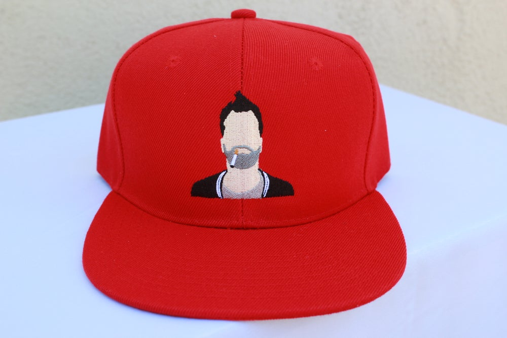 Image of Shane Smoking Snapback (Available in Black or Red)