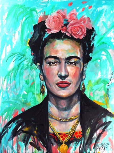 Image of Ocean Meet Forest- Frida Khalo