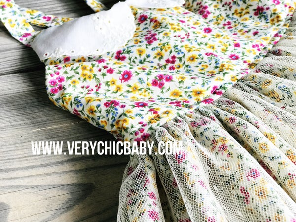Image of Floral Greta Dress