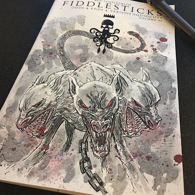 Image of FIDDLESTICKS SKETCHCOVER ART EDITIONS