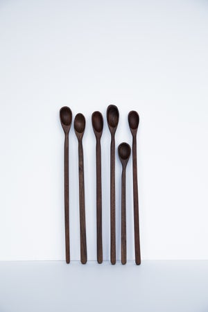 Image of CS- Walnut sauce spoon