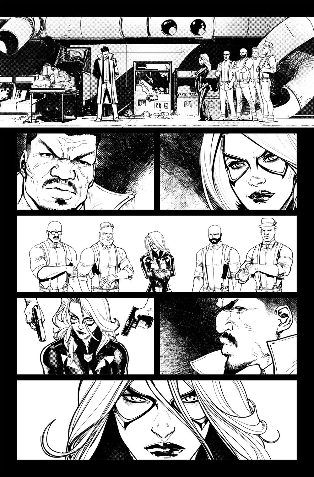 Image of DEFENDERS #3  P.03 ARTIST'S PROOF