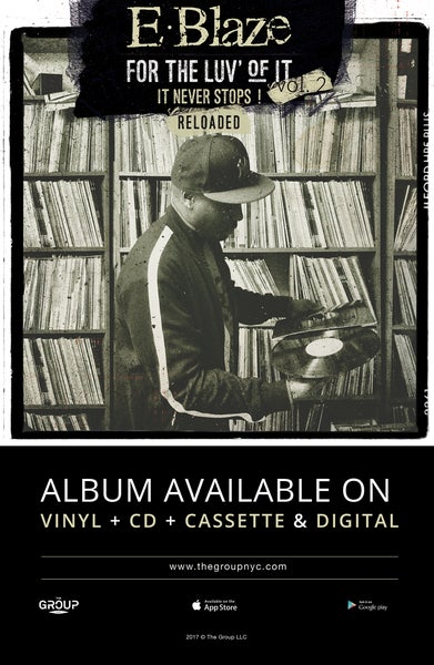 """Image of For the luv of it Vol.2,Reloaded Poster """"Vinyl"""" 11x17 signed by E.Blaze"""